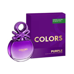BENETTON - Colors Purple para mujer / 80 ml Eau De Toilette Spray