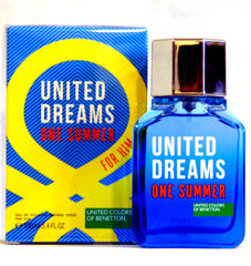 BENETTON - United Dreams One Summer para hombre / 100 ml Eau De Toilette Spray