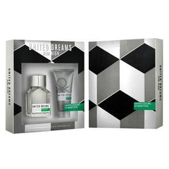 BENETTON - United Dreams Aim High para hombre / SET - 100 ml Eau De Toilette Spray + 1 Regalo