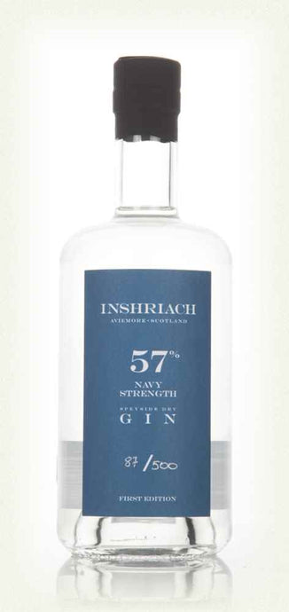 Inshriach Navy Strength Gin