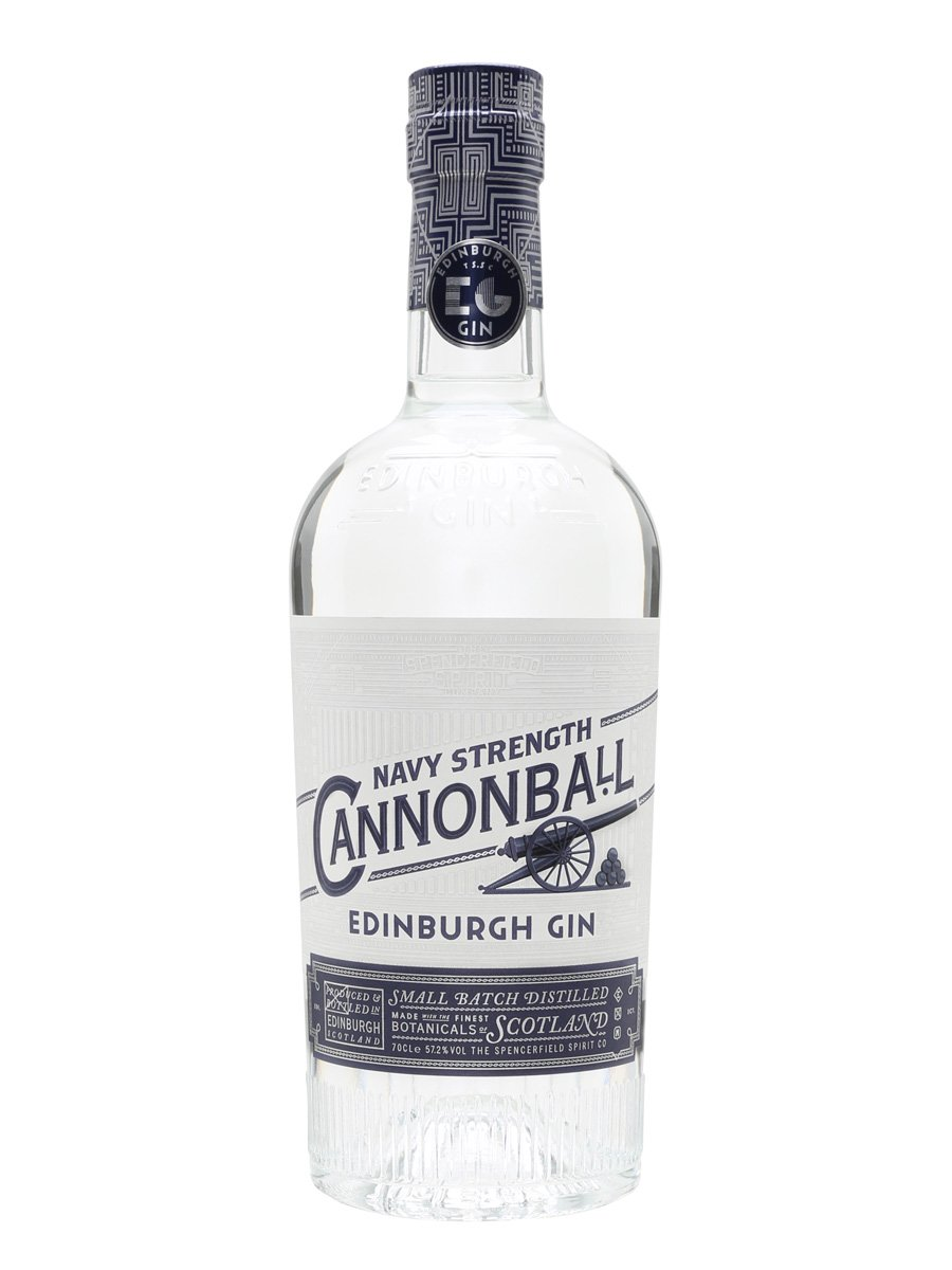 Edinburgh Gin Cannonball Navy Strength