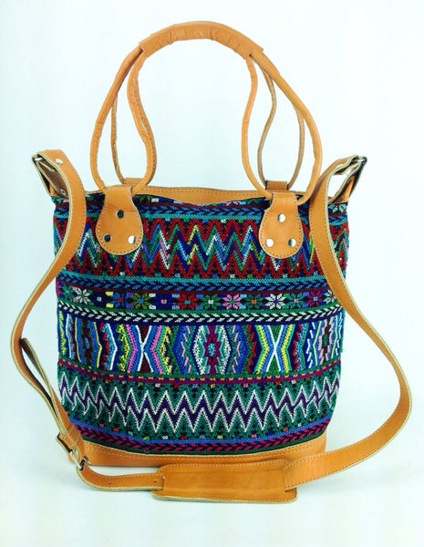 Aztec Cross-body Tote Bag