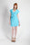 Braeburn Dress in Aqua