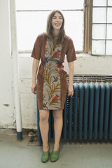 Hummingbird Rust Dress