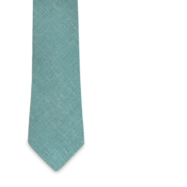 The Turquoise Diplomat Skinny Tie