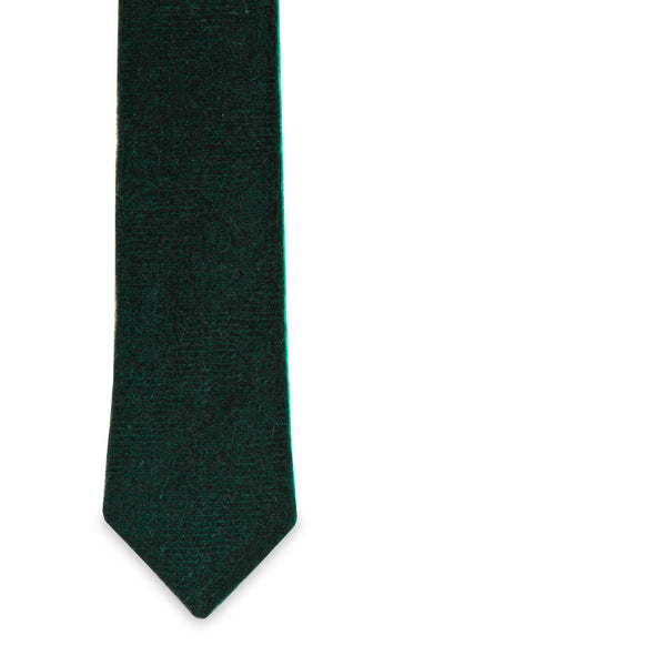 The Scot Green Skinny Tie