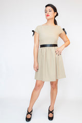 The Grace Dress in Beige