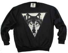 Black Spirit Sweater: The Wolf