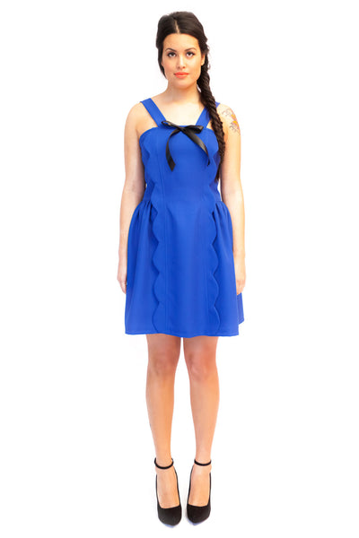 Blanca Dress in Blue