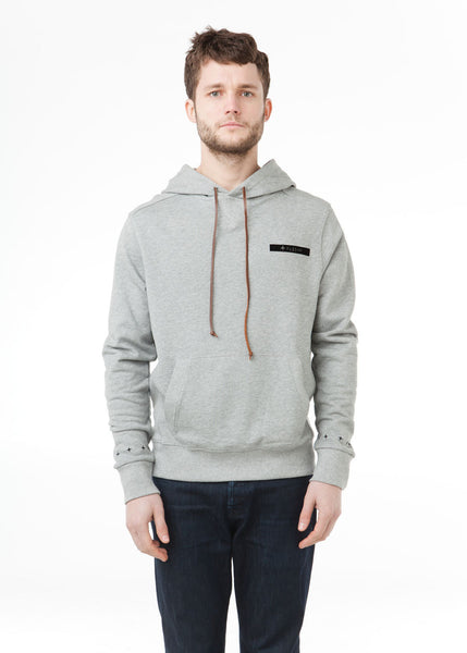 Citizen-F Pullover Hoodie in Grey