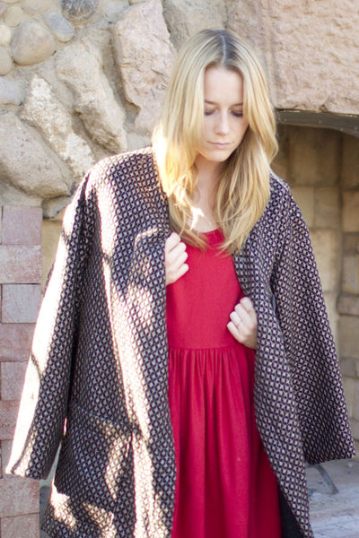 Light Trapeze Coat
