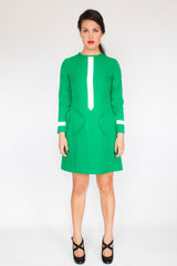 The Liz Dress in Green