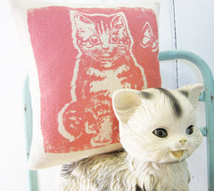 Eco Solvent-Free GIGI the Kitten Cushion