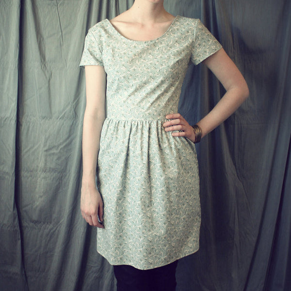 Easy Summer Cotton Dress