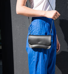 The Straight and Narrow Bag in Black