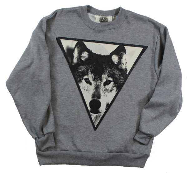 Grey Spirit Sweater: The Wolf