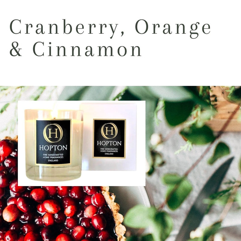 Cranberry Orange & Cinnamon
