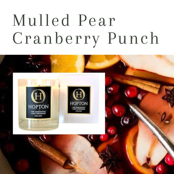 Mulled Pear & Cranberry Punch