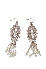 Dolores Earrings- Silver, Camilla Christine Bridal Accessories & Wedding Jewelry