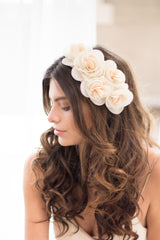 Primrose Headpiece- Blush