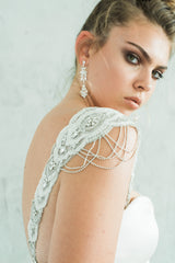 Maxine Sleeves & Maria Earrings from Camilla Christine Bridal Accessories and Wedding Fashion Jewelry