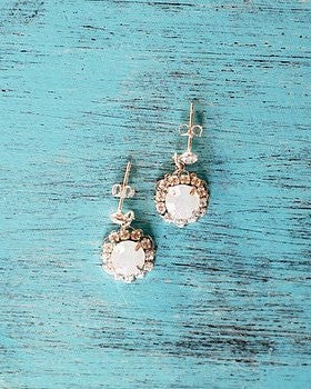 PETUNIA EARRINGS- SILVER