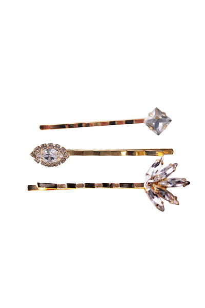 BECCA HAIR PINS- GOLD