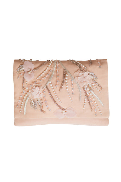 BEGONIA CLUTCH- BLUSH