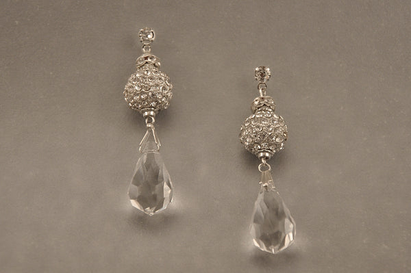 SUSAN EARRINGS- SILVER