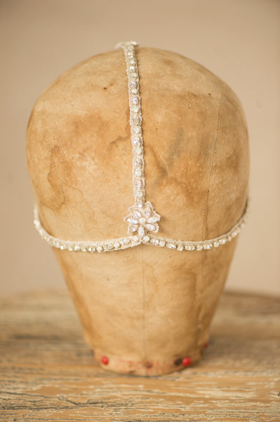 SIMONE HEADPIECE - SILVER