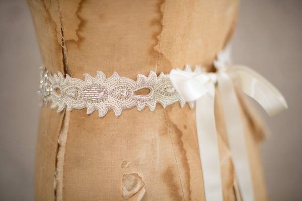 GREENLEY SASH - SILVER