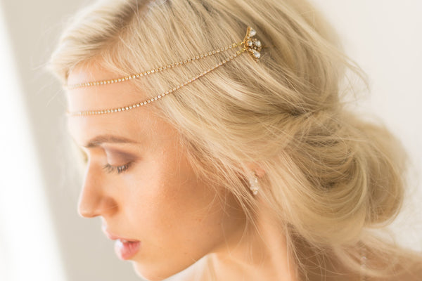 MADISON HEADPIECE- GOLD