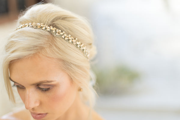 SUMMER HEADBAND- GOLD