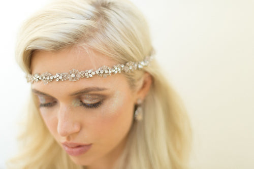 BRINLEY HEADBAND- BLUSH