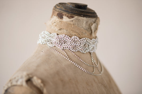 MELISANDRA NECKLACE - SILVER