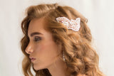 FREDERIQUE HAIR COMB- ROSE GOLD
