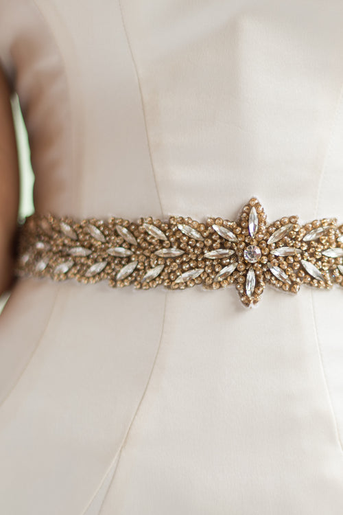HEATHER SASH- GOLD