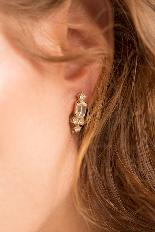 EVAN EARRINGS - GOLD