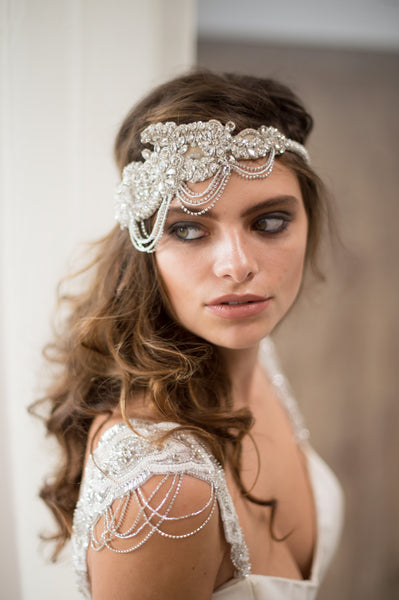 FAITH HEADPIECE - SILVER