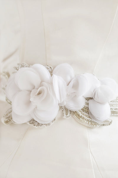FLORA SASH- OFF WHITE