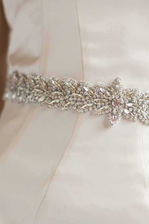 HEATHER SASH- SILVER