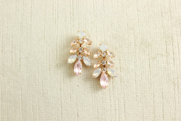 IRIDESSA EARRINGS - ROSE GOLD