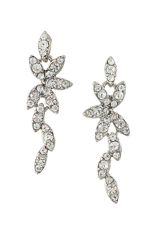 LEIGHTON EARRINGS- SILVER