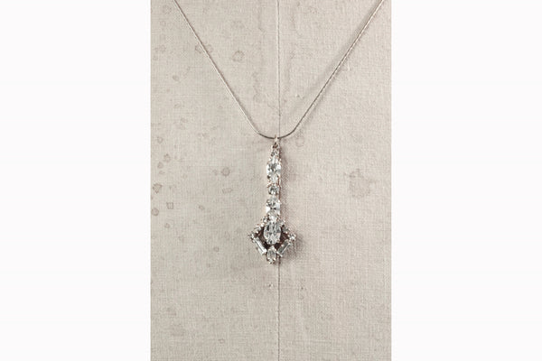 JANUARY NECKLACE- SILVER