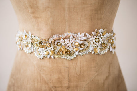 ISOLDE SASH - GOLD