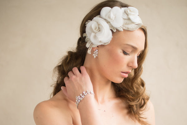 FLORA HEADBAND- OFF WHITE