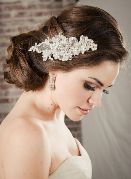 EDEN HAIR COMB - OFF WHITE