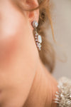 HALSTON EARRINGS - SILVER
