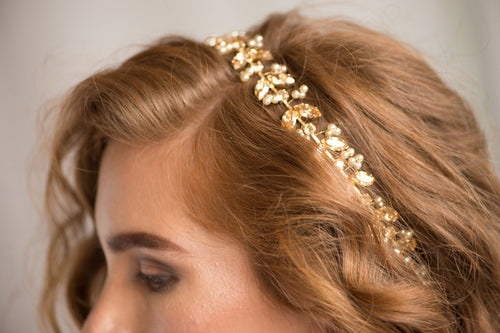ANIA HEADPIECE- GOLD