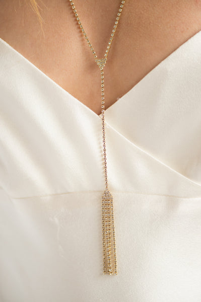 ROXANNE NECKLACE- GOLD